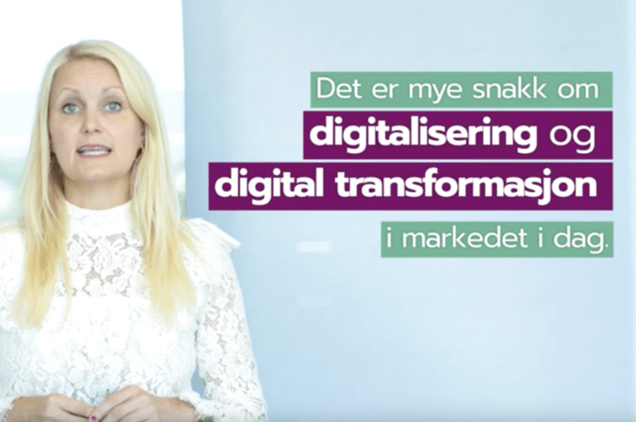 Gunn Kristin om digitalisering og digital transformasjon